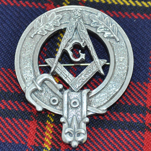 Masonic Cap Badge