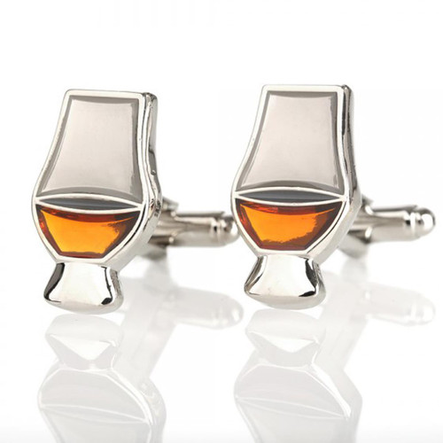 Whiskey Glass Cuff links