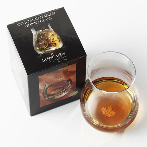 The Official Canadian Whisky Glass