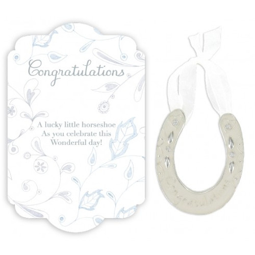 Congratulations wee lucky horseshoe