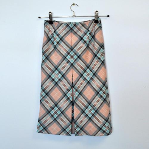 Princess Diana Coca Skirt -Dianna Rose tartan - size 8
