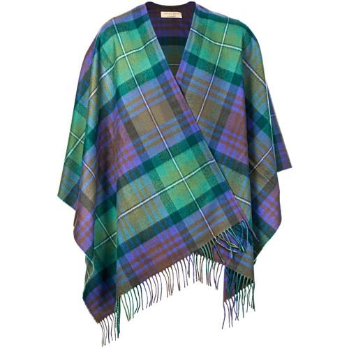 Isle of Skye Tartan Brushed Wool Serape