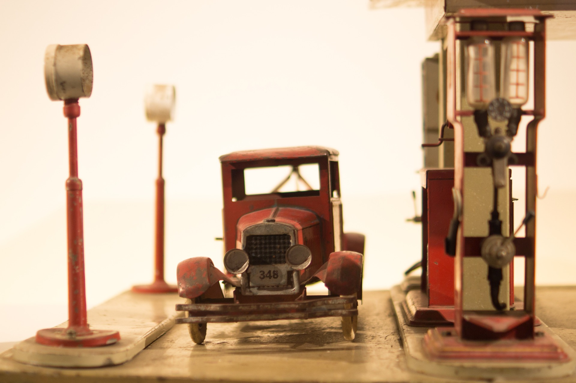 Petroliana and Gas Station Toy Truck Memorabilia - Petroleum Service ...