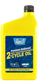 Super S TC-W3 2-Cycle Engine Oil | 3/1 Gallon Bottles