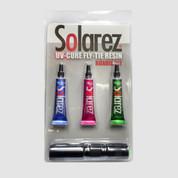 SolarRex PRO Roadie Kit 3 Pack 1oz bottles with Medium Flashlight