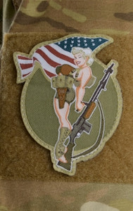 B.A.R. Girl Patch