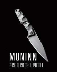 MUNINN PRE ORDER CLOSED/STATUS UPDATES