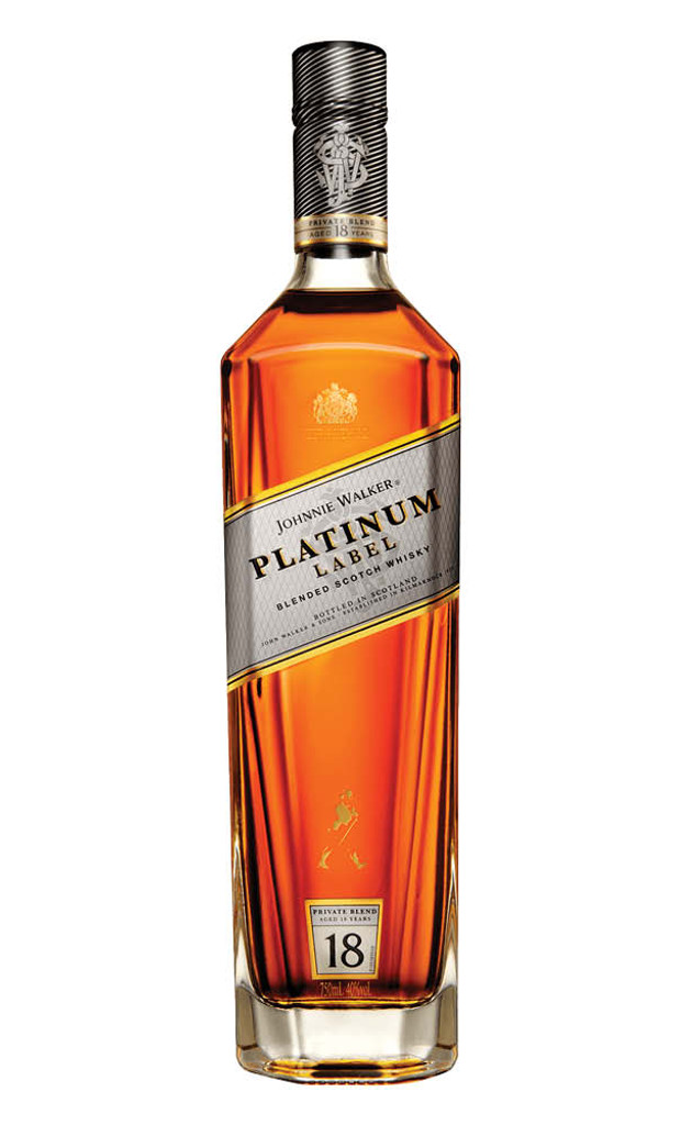 Johnnie Walker Platinum 18YO Scotch Whisky 1 Litre