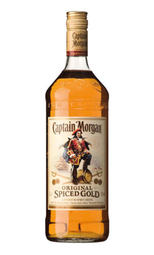 Captain Morgan Original Spiced Rum 1 Litre