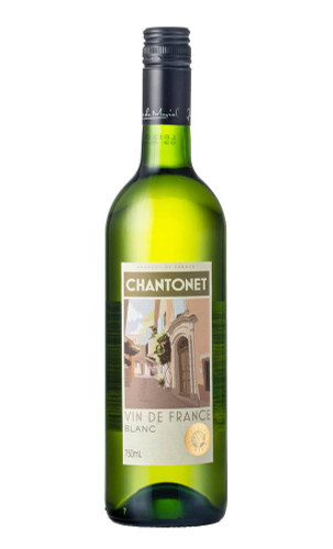 Chantonet Blanc NV Wine, France (6x750ml)
