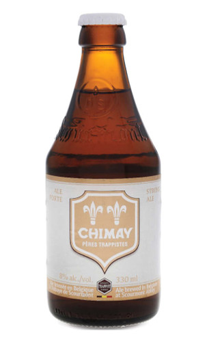 Chimay White Trappist Beer 12x330ml