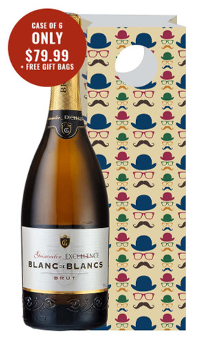 Geisweiler Excellence Blanc de Blancs Sparkling + 6 Free Gift Bags