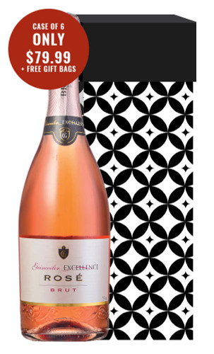 Geisweiler Excellence Rosé Brut Sparkling + 6 Free Gift Bags