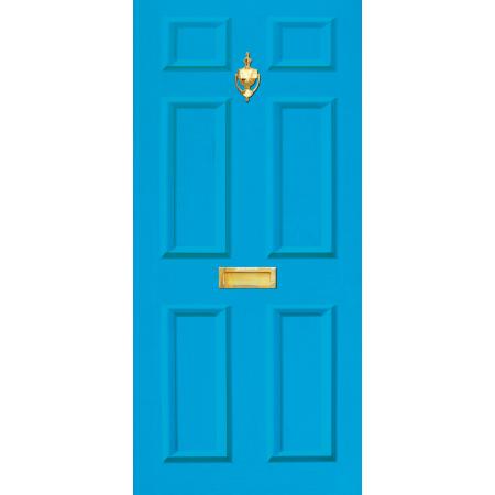 Door Vinyl Decal Dementia Friendly With Letterbox