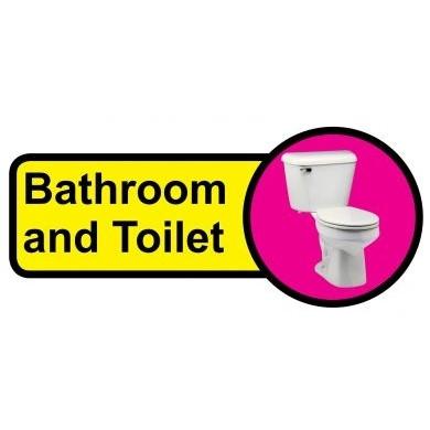 Bathroom Amp Toilet Sign Dementia Friendly 48cm X 21cm