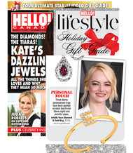 Mini Mini Jewels Diamond Initial Ring Featured in HELLO! Canada Holiday Gift Guide 2017