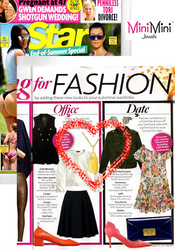 Mini Mini Jewels Dog Tag Pendant Featured In Star Magazine