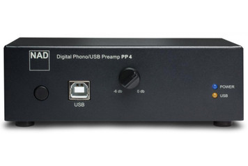 NAD PP4 Digital Phono USB Preamplifier