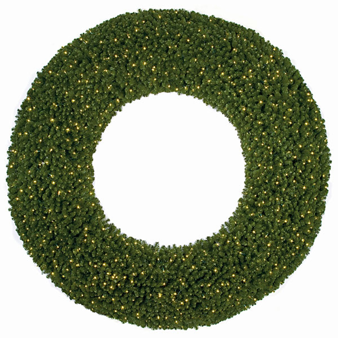 C 100938   LED Lights Large Commercial Pine Wreath for Indoor Outdoor Use12  Wholesale Giant Wreaths   Indoor Outdoor Wreaths. Outdoor Wreath With Led Lights. Home Design Ideas