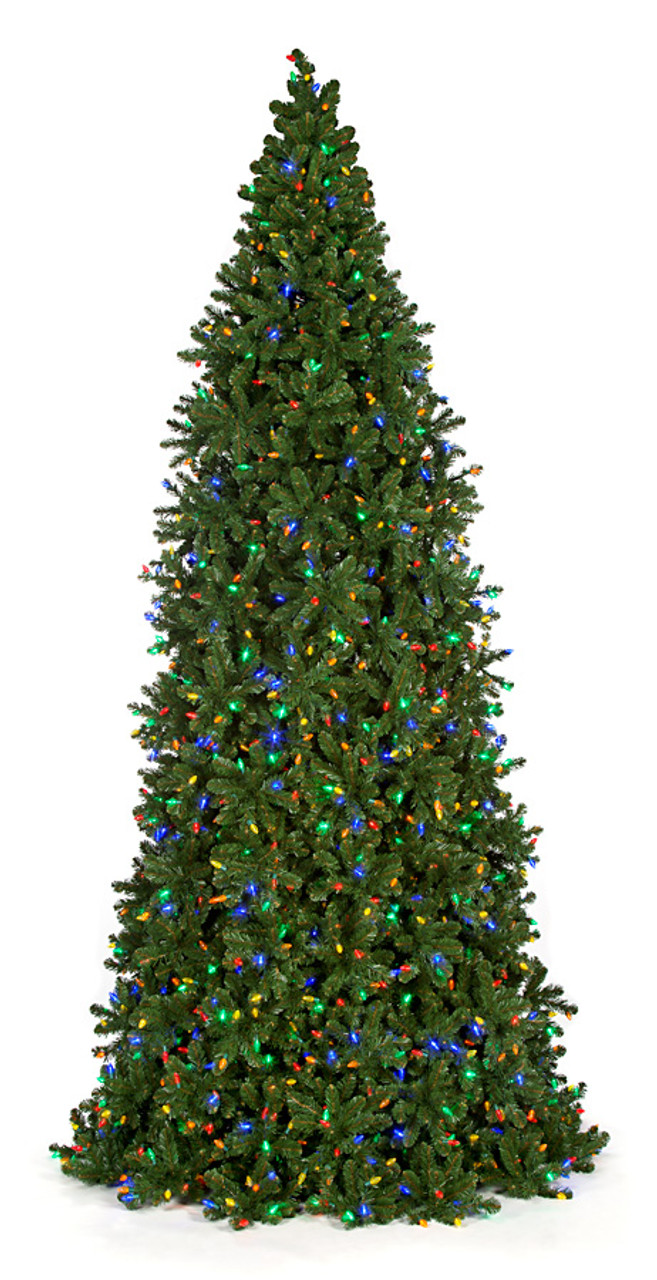 Fire Retardant Spray For Christmas Trees Part - 19: 12 Ft., 14 Ft., And 16 Ft. Slim Frame Trees With