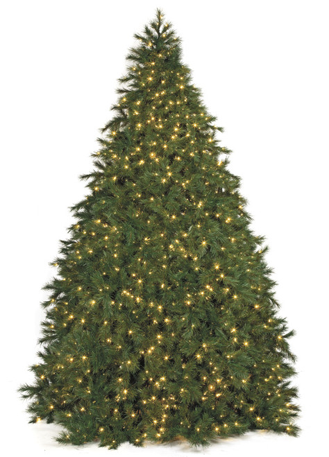 7 5 And 9 Foot Polaris Pine Tree With Multi Functional Led