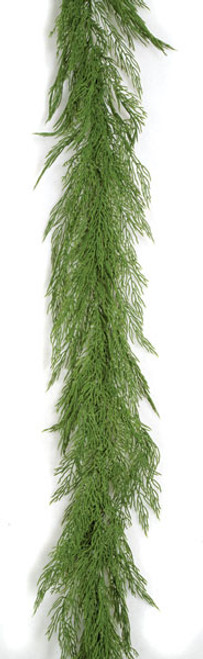 9 Foot Bayou Garland - Green