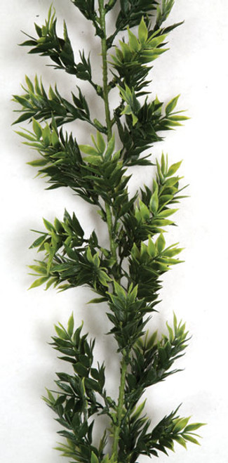 9 Foot Bamboo Garland - Green