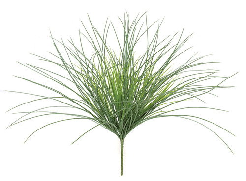 19 Inch Outdoor Onion Grass - Green, Green/Grey, Rust, Burgundy