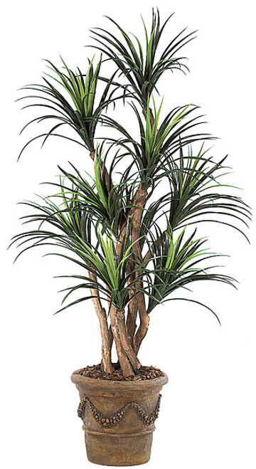 5 Foot Polyblend Liriope Tree