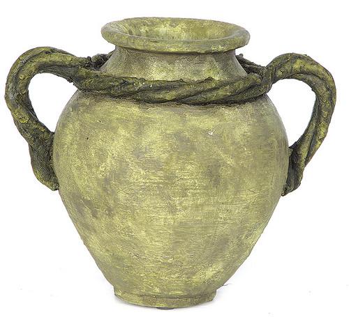 9.5 Inch Vase with Vine Handles
