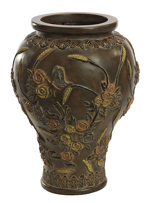 16.25 Inch Fiberglass Butterfly Vase