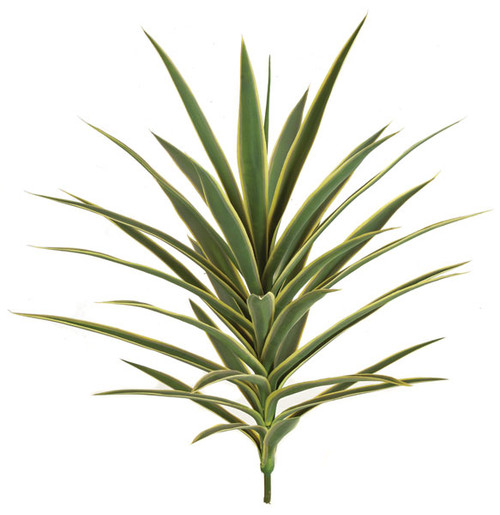 30 Inch UV Yucca Plant - Burgundy or Green/Yellow