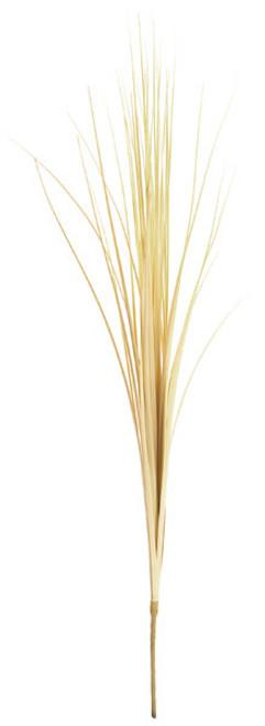 28 Inch PVC Onion Grass Spray - Beige/Lt. Yellow