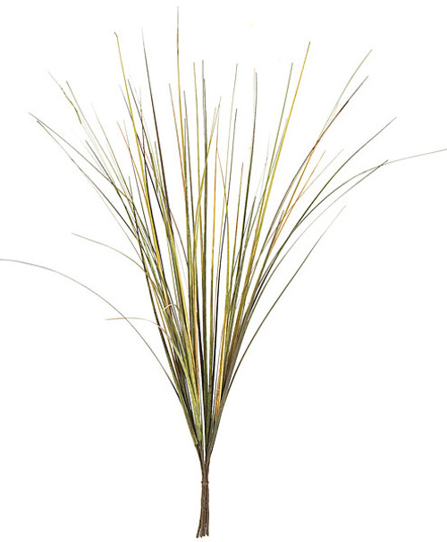 24 Inch PVC Onion Grass Spray - Olive, Mixed Colors