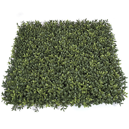 20 x 20 x 3 Inch Plastic New Leaf Boxwood Mat - UV/IFR