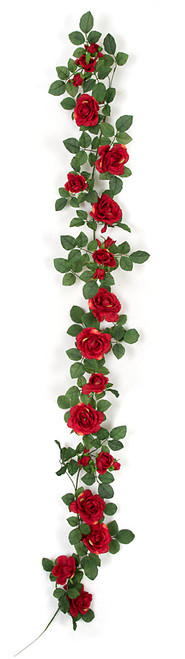 6 Foot IFR Rose Garlands - Pink or Red
