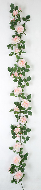 6 Foot Rose Garland - Pink