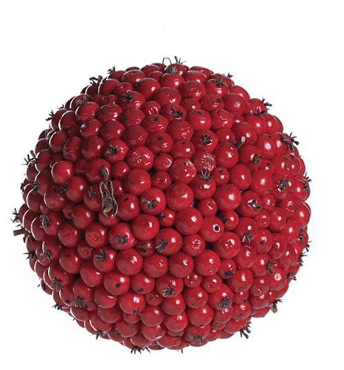 5.5 Inch Red Berry Ball