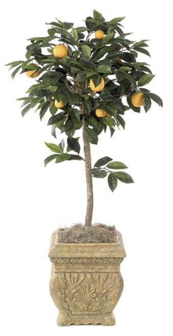 4.5 Foot Orange Topiary