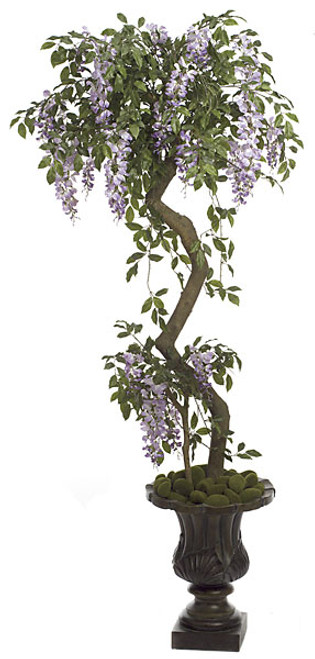 5 Foot Lavender Wisteria Topiary