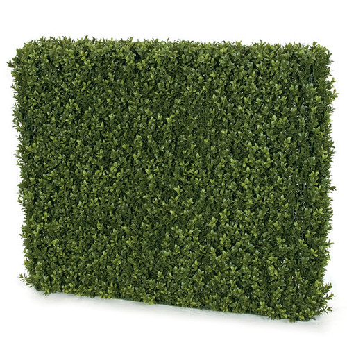 37 x 8 x 32 Inches UV Boxwood Hedge