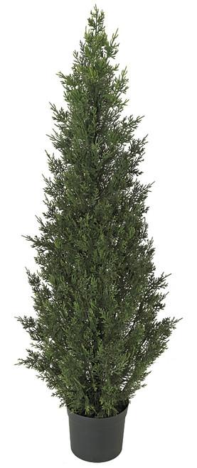4 Foot Plastic Cedar Tree