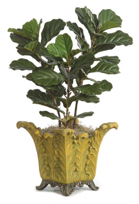 P-13003' Fiddle Leaf Fig TreeDecorative Pot Sold Separately