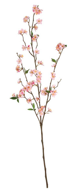 45 Inch IFR Cherry Blossom Branch - Pink or Cream (sold per piece)