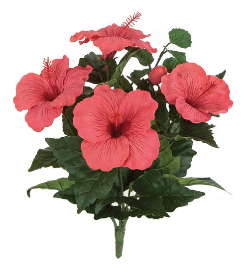 15 Inch IFR Hibiscus Bush