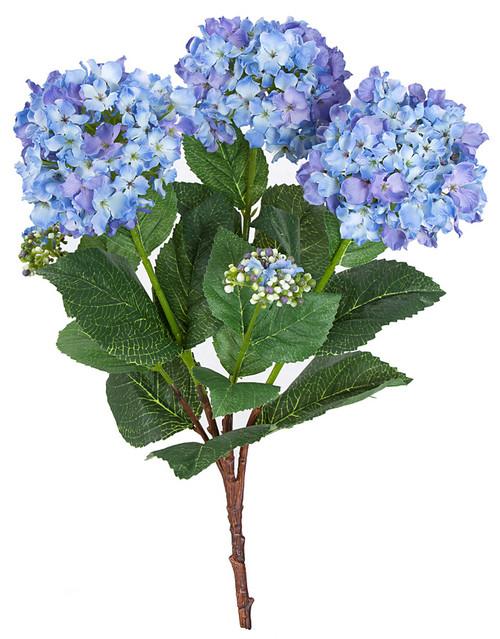 "P-12102521"" Hydrangea BushBlue/Purple"