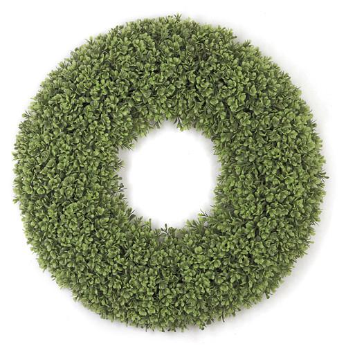 22 Inch Boxwood Leaf Wreath