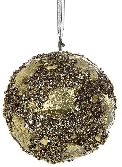 8 Inch Wire Ball Ornament