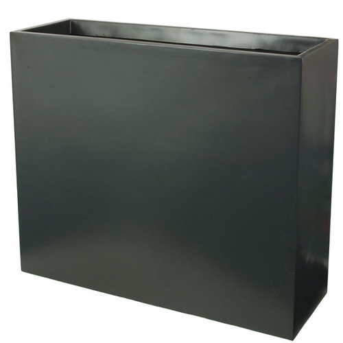 35 x 12 x 30 Inch Dark Grey Planter Box