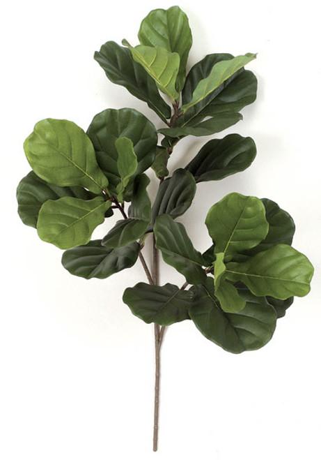 """P-4890 or PR-4890 34"""" Fiddle Leaf Fig Spray"""